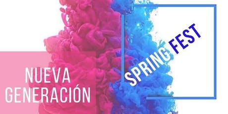 Spring Fest entradas