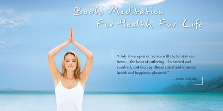 Bodhi Meditation Introductory Workshop, Free Event tickets