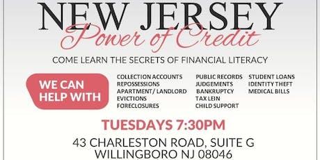 POWER OF CREDIT Financial Literacy seminar tickets
