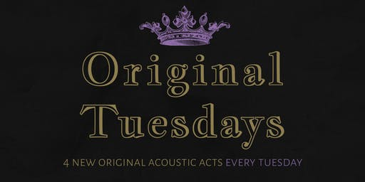 Tues Aug 27th Original Tuesdays at The Scottish Prince!