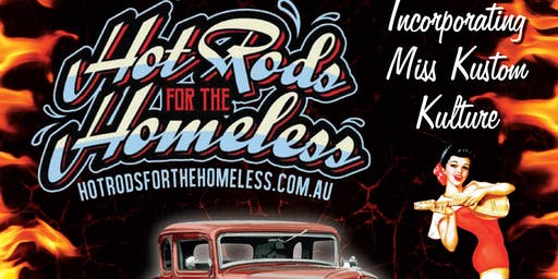 Hot Rod's For The Homeless 2019 Gladstone