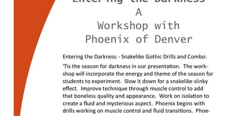 Entering the Darkness - Snakelike Gothic Drills and Combo: tickets