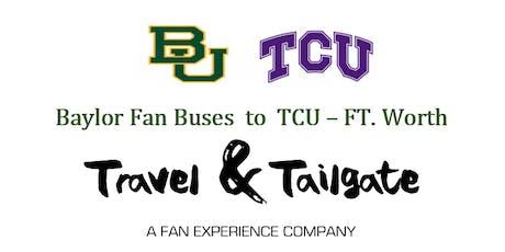 2019  - Baylor vs TCU Bus Trip  - Waco to Ft. Worth tickets