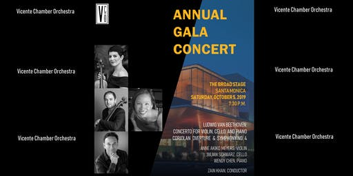 Vicente Chamber Orchestra Annual Gala Concert at the Broad Stage