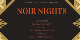 Noir Nights - An elegant all BLACK adult prom experience