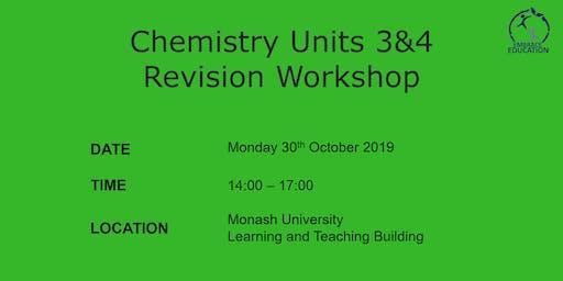 Chemistry Units 3&4 Revision Workshop 2019