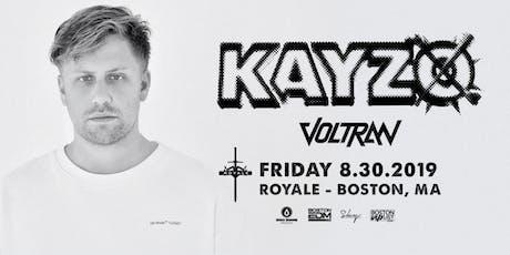 Kayzo | 8.30.19 | 10:00 PM | 21+ tickets