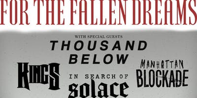RCC Presents: For The Fallen Dreams & Thousand Bel