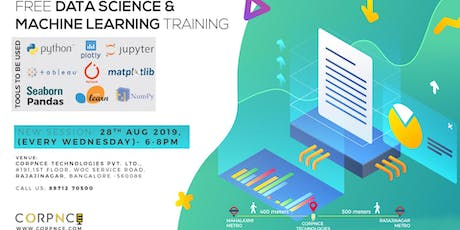 Data Science and Machine Learning Series for beginners tickets