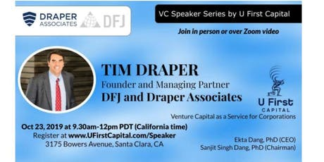 VC Speaker: Tim Draper's Investment Strategy tickets