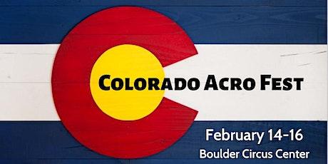 Colorado Acro Fest  tickets