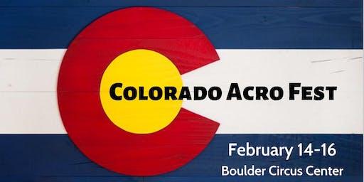 Colorado Acro Fest