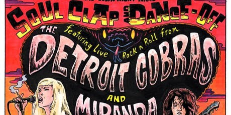NY Night Train Soul Clap & Dance-Off with The Detroit Cobras tickets