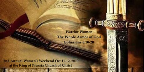 Warrior Women - The Full Armor of God tickets