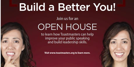 Lake Avenue Toastmasters Open House tickets