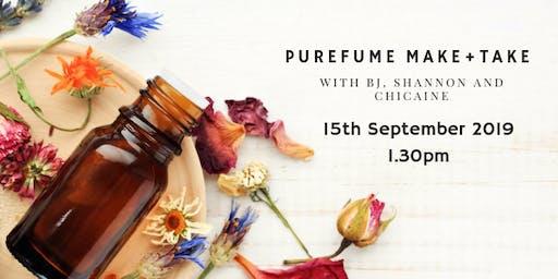 PUREfume Make + Take with Essential Oils
