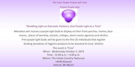 Project-Purple Light tickets