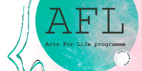 Arts For Life Programme, training tickets