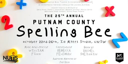 NUTS Presents: The 25th Annual Putnam County Spelling Bee