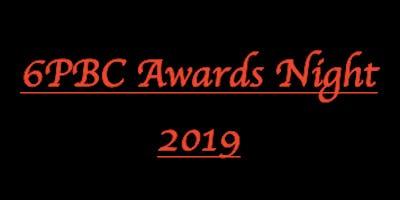 6PBC 2019 Awards Night