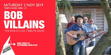 The Bob Villians - Bob Dylan Tribute Band Evening tickets