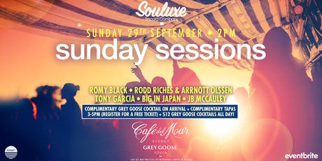 Souluxe Presents Grey Goose Sunday Session tickets