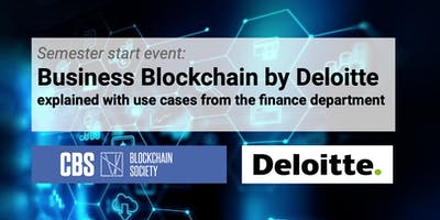 CBS Blockchain Society presents: Business Blockchain with Deloitte