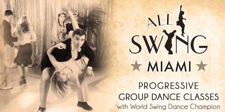 All Swing Miami Dance Classes MONDAYS tickets