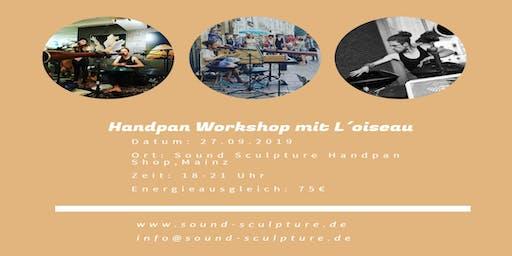 Handpan Workshop mit L´ oiseau
