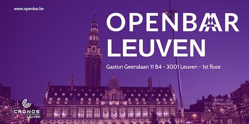 Openbar Leuven meetup 13 - Virtual Reality & Google Cloud