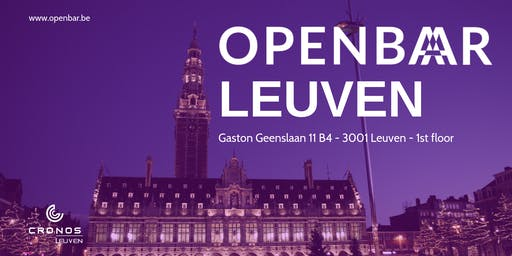 Openbar Leuven October // Exponential organisations & API Management