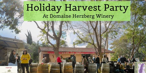 Holiday Harvest Party at Domaine Herzberg Winery