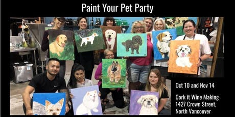 Paint Your Pet @ Cork It Wine Making tickets