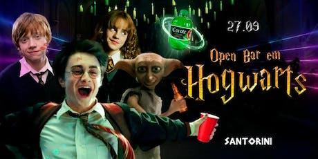 Open bar em Hogwarts ingressos