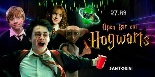 Open bar em Hogwarts