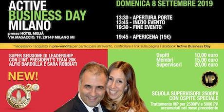 Active Business Day Milano - 8 Settembre 2019 biglietti