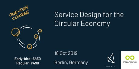 Service Design for the Circular Economy Tickets