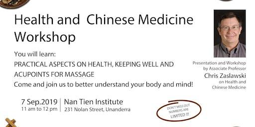 Health & Chinese Medicine Workshop