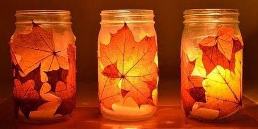 Open Studio: Fall Seasonal Lanterns (all ages)