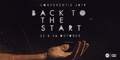 G12 Conferentie 2019 | BACK TO THE START