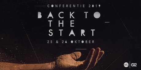 G12 Conferentie 2019 | BACK TO THE START tickets