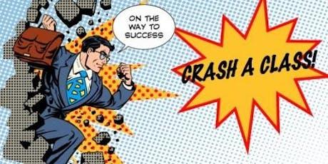 Crash a Class - Sales Training tickets