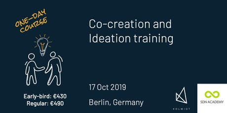 Co-creation and Ideation for (Service) Design Tickets