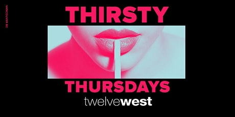Thirsty Thursdays tickets