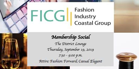Fashion Membership Social at The District Lounge