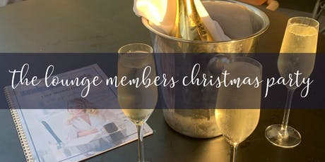 The Lounge Members Christmas Party tickets