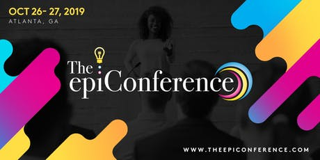 The epiConference 2019 tickets