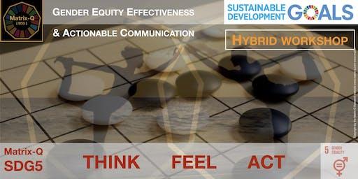 Gender Equity Effectiveness & Actionable Communication [HYBRID WORKSHOP]