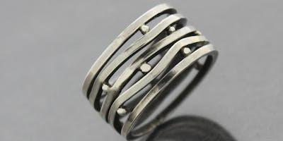 Multiplicity Ring - Metalworking with  Kieu Pham Gray