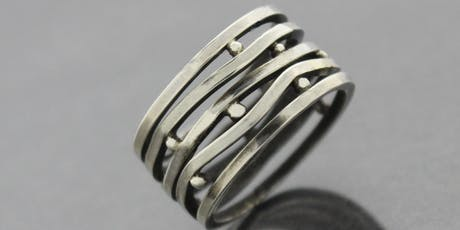 Multiplicity Ring - Metalworking with  Kieu Pham Gray tickets